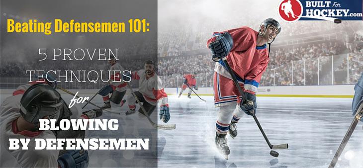 beating defensemen in hockey