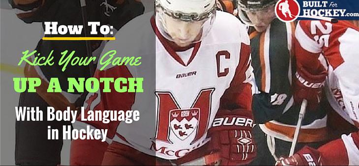 body language in hockey