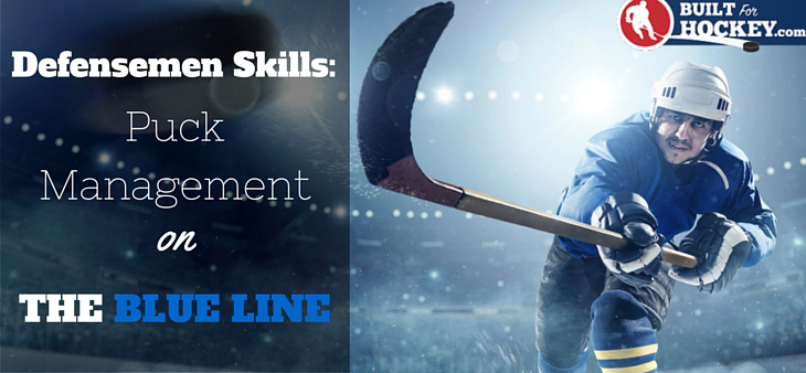 hockey defensemen tips for managing the puck at the blue line