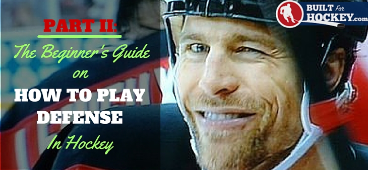 how to play defense in hockey part 2