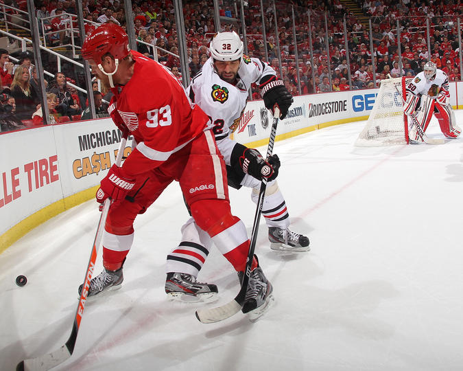 good body position hockey