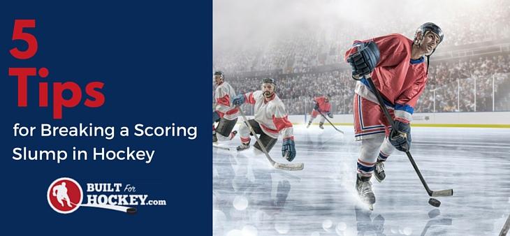 Scoring goals hockey tips for center