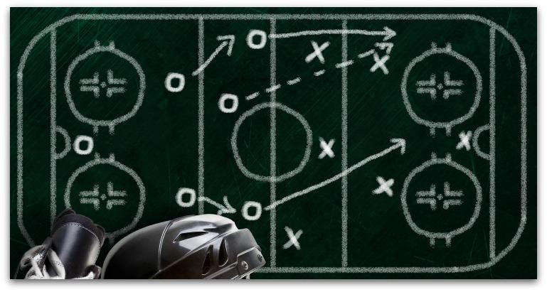 winger breakout tips in hockey
