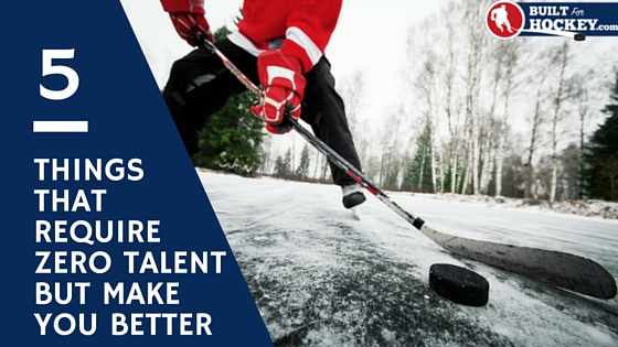 5 things that require zero talent in hockey