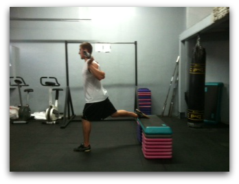 elevated split squats for hockey