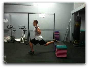 elevated splitsquat