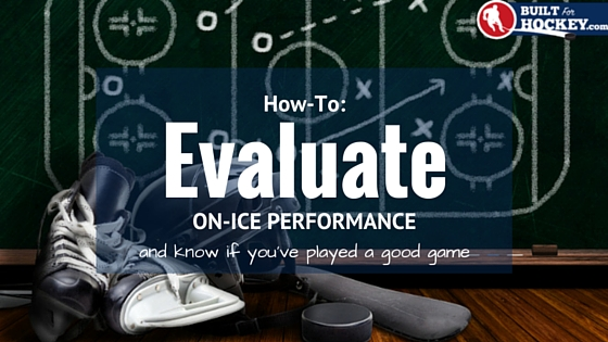 progress framework for evaluating performance in hockey