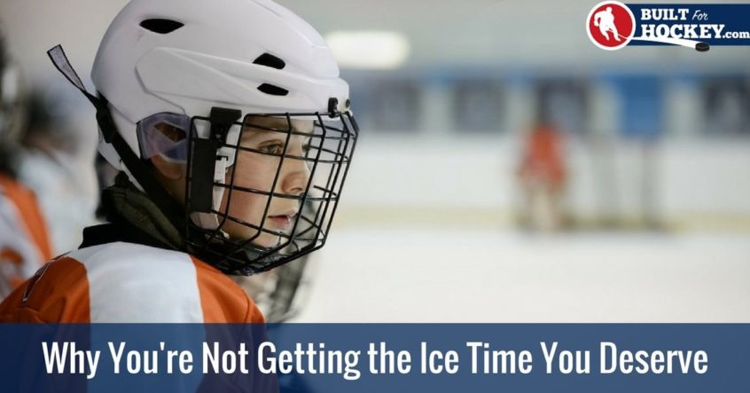 how to get more ice time in hockey